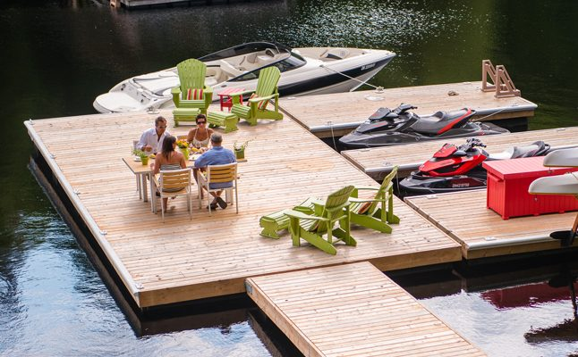 Residential Docks Nydock Floating Docks Amp Pontoons