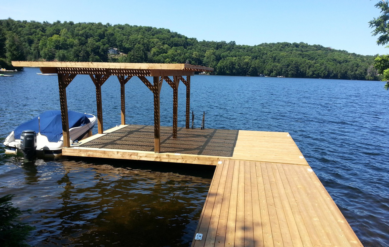 design your own nydock floating docks pontoons pipefusion in huntsville ontario muskoka. Black Bedroom Furniture Sets. Home Design Ideas