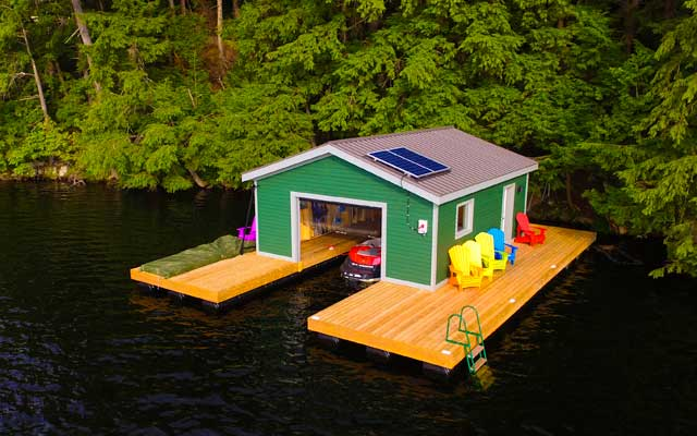 Boathouses Nydock Floating Docks Amp Pontoons Pipefusion