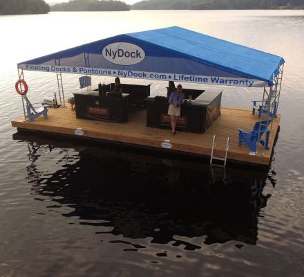 Boathouses - NyDock Floating Docks & Pontoons PipeFusion in