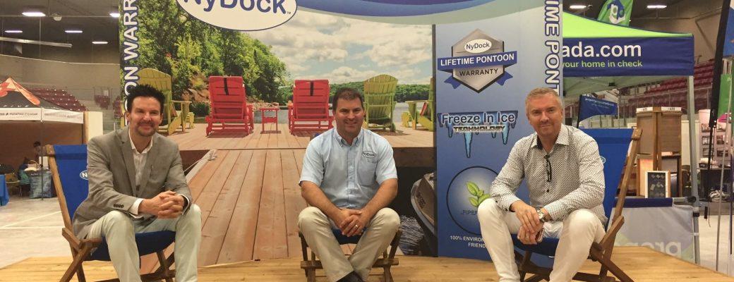 Visit Us - Fall Cottage Life Show - NyDock Floating Docks