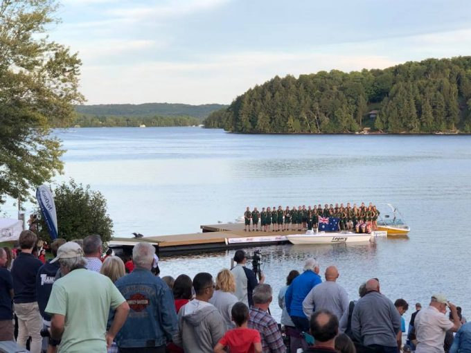 Nydock Is Attending 2018 World Waterski Show Tournament At