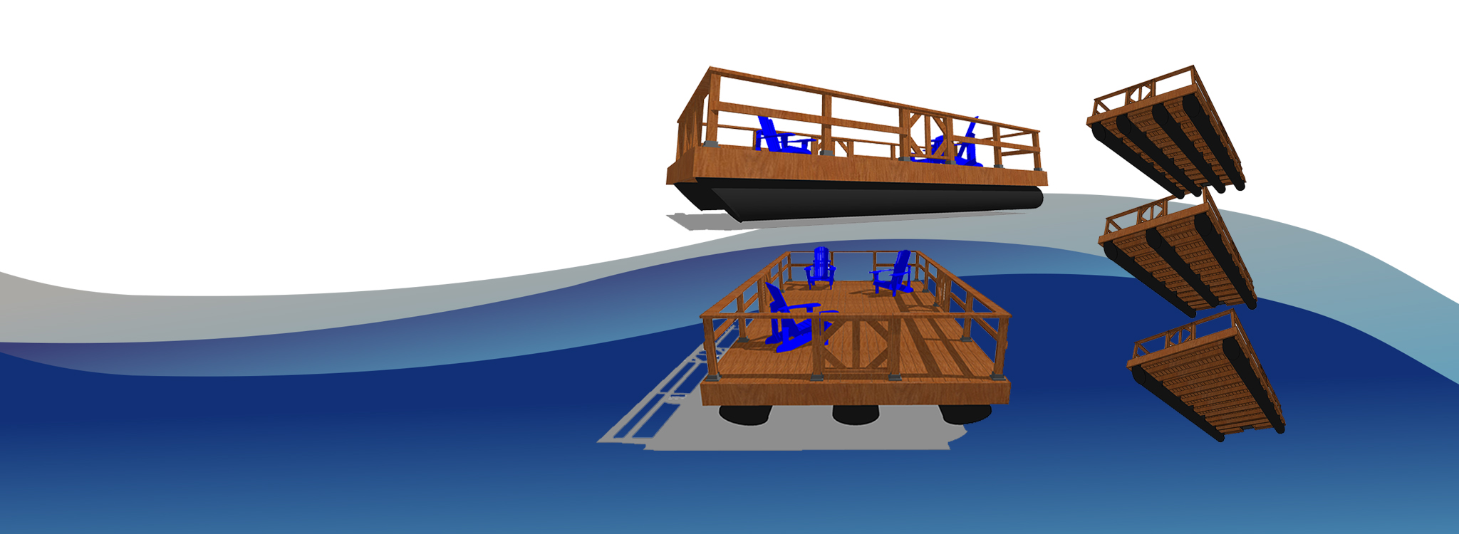Dock Boats - NyDock Floating Docks & Pontoons PipeFusion in