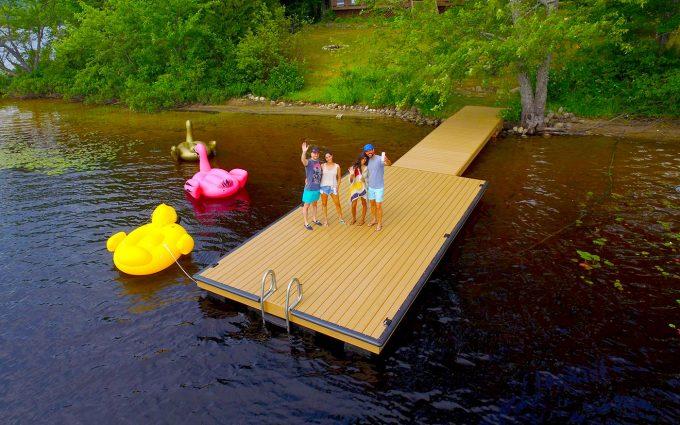 Lumberock - NyDock Floating Docks & Pontoons PipeFusion in